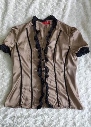 Блуза із натурального шовку