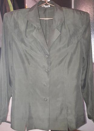 Franco callegari пиджак жакет шелк