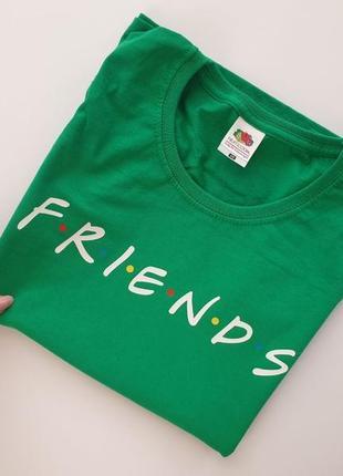 """Футболка з прінтом """"друзі"""""""