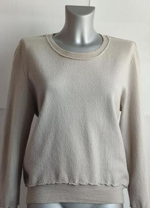 Шерстяной свитер burberry цвета экрю