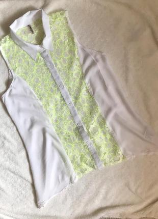 Сорочка з мереживом
