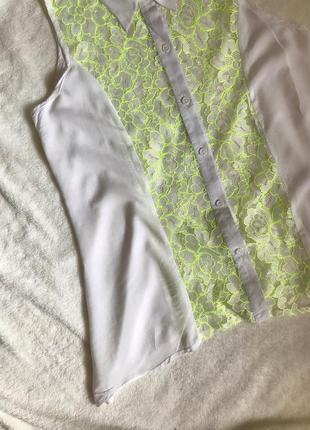 Сорочка з мереживом2 фото