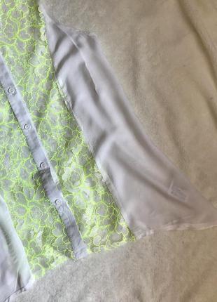 Сорочка з мереживом3 фото