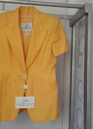 Яркий летний костюм италия gai mattiolo