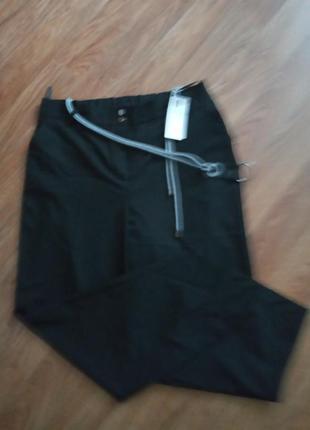 Фирменные брюки с высокой посадкой