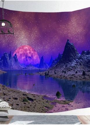 Картина текстильная гобелен настенный космос №1