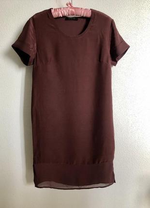Изумительное шелковое платье all saints s оригинал