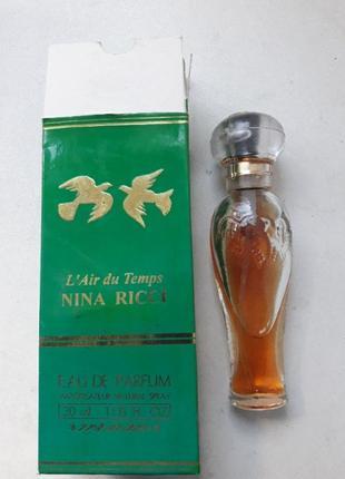 Духи nina ricci  винтажные духи. парфюм винтаж.