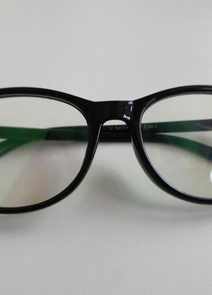 Очки, компьютерные очки, с напылением, прозрачные очки