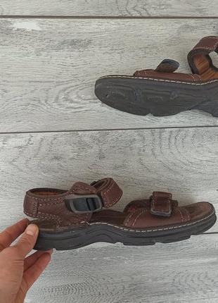 Clarks air мужские кожаные сандалии оригинал англия 44р