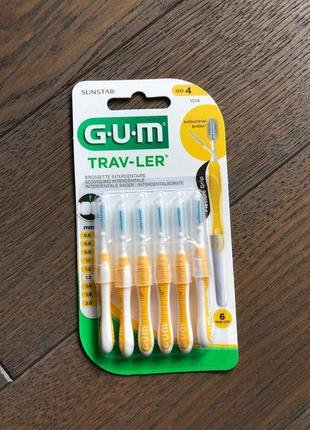 G.u.m trav-ler міжзубні йоршики 1.3 мм, 6 шт