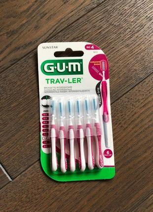G.u.m trav-ler міжзубні йоршики 1.4 мм, 6 шт