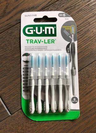 G.u.m trav-ler міжзубні йоршики 2.0 мм, 6 шт