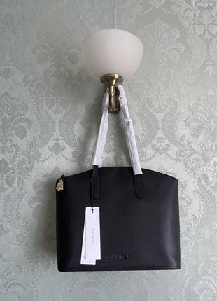 Женская кожаная брендовая офисная деловая большая сумка шопер calvin klein; новая