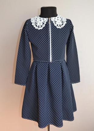 Школьное детское платье для девочки от 5 до 10 лет, с пиджачком, костюм5 фото