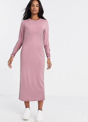 Трикотажное вискозное платье