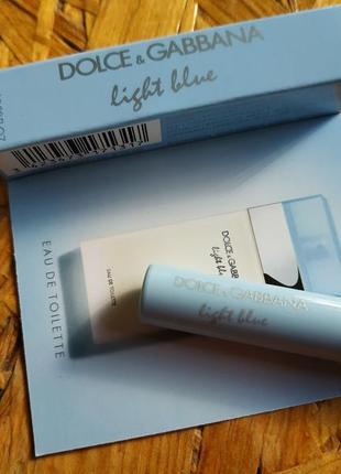 Пробник парфюма light bluedolce&gabbana, оригинал
