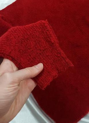 Теплый свитер - оверсайз с объмными рукавами dilvin8 фото