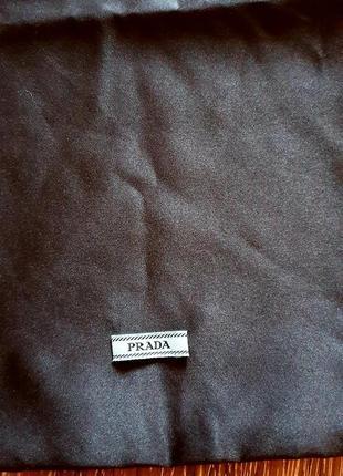 Prada шелковый мешочек пыльник ❤