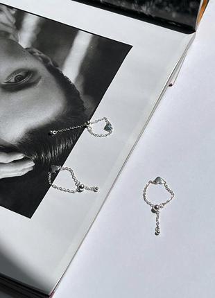 Супер новые кольца кольцо серебро 925 проба регулируется