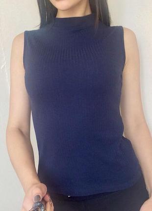 Майка блузка amisu рубчик