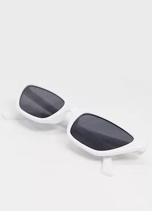 Очки svnx белые , оправа, окуляри сонячні asos