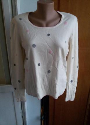 Нежнейший кашемировый свитер escada /55%шерсть,30%кашемир,15%шелк