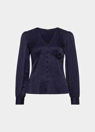 Шикарная блуза с v-образным вырезом orsay разм.40