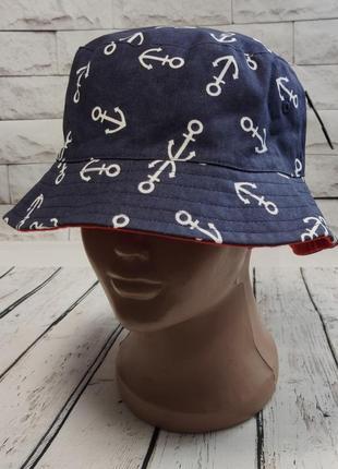Детская панамка шляпа для мальчика 3-6 лет. №76