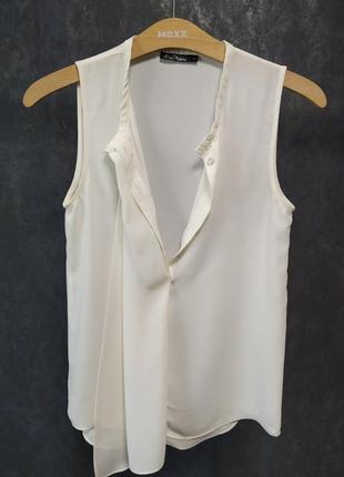 Воздушная кремовая блуза kira plastinina оригинал р-р xs