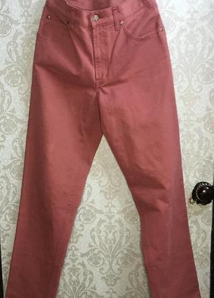 Mom's джинсы момы нюдовые розовые
