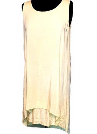 Легкое , натуральное платье , сарафан , вискоза 100% ,италия ,р. 40-46