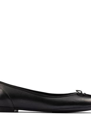 Новые туфли балетки clarks 23.8 см 37 размер англия