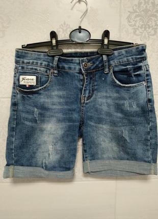 Джинсовые шорты 26 размер