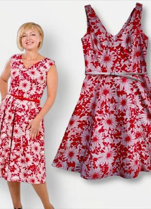 Летнее платье из натуральной ткани new look