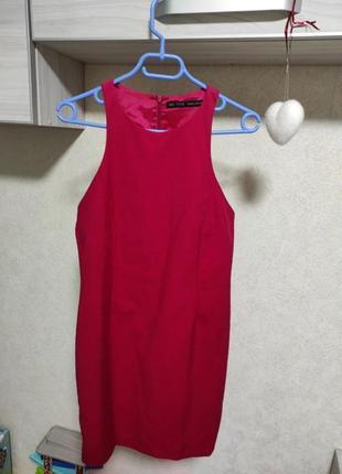 Малинова сукня, платье в обтяжку