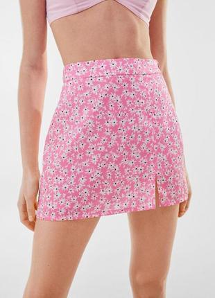 Юбка, мини юбка, юбка летняя, юбка атласная