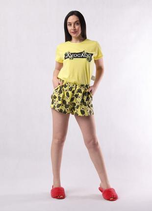 Женская летняя пижама авокадо рр. 42-56