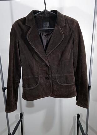 Классический женский замшевый пиджак one touch германия