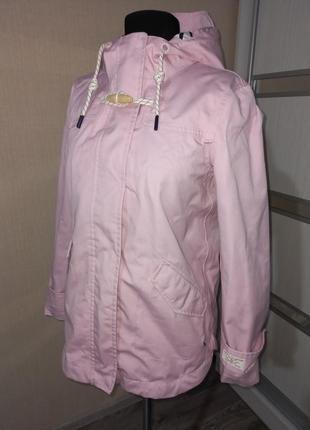 Фирменная куртка дождевик ветровка на подкладе с капюшоном 🌺