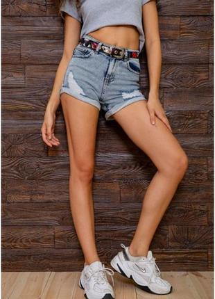 Женские джинсовые шорты, размер 25,26,27,28,29,30