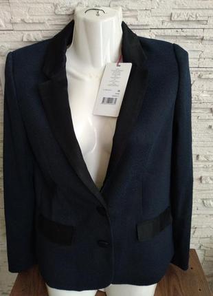 Пиджак naf naf темно синего цвета