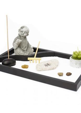 Сувенир набор дзэн сад камней будда №4