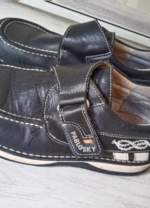 Кожаные туфли pablosky 31 раз.