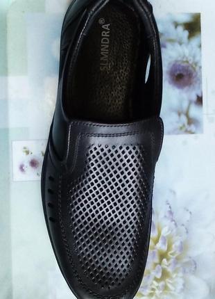 Slmndra konors туфли перфорация натуральная кожа распродажа остатков ниже закупочных цен