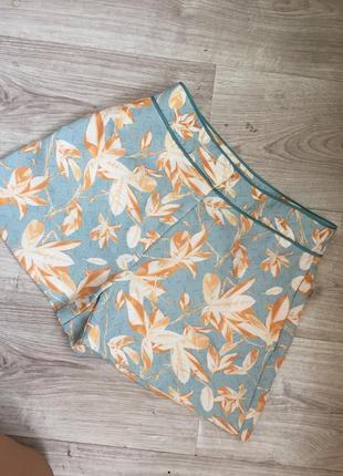 Модные шорты hm с завышенной талией