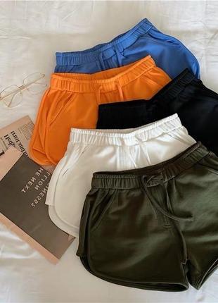 Шорты короткие спортивные летние, шорты короткие на лето, трикотажні короткі шорти на літо, літні шорти