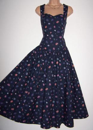 Элегантное винтажное платье от laura ashley
