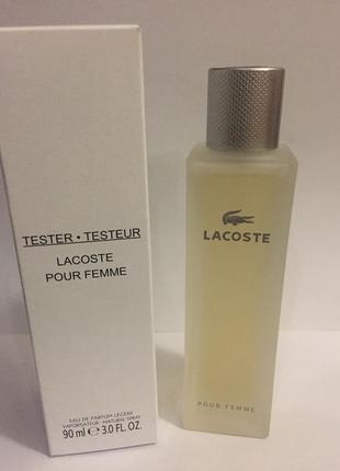 ... Lacoste pour femme legere парфюмир. вода тестер 90 мл с крышечкой  оригинал великобритания2 ... f81649af747