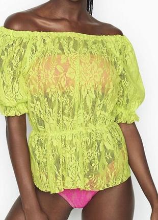 Victoria's secret пляжная и прогулочная блуза с/м
